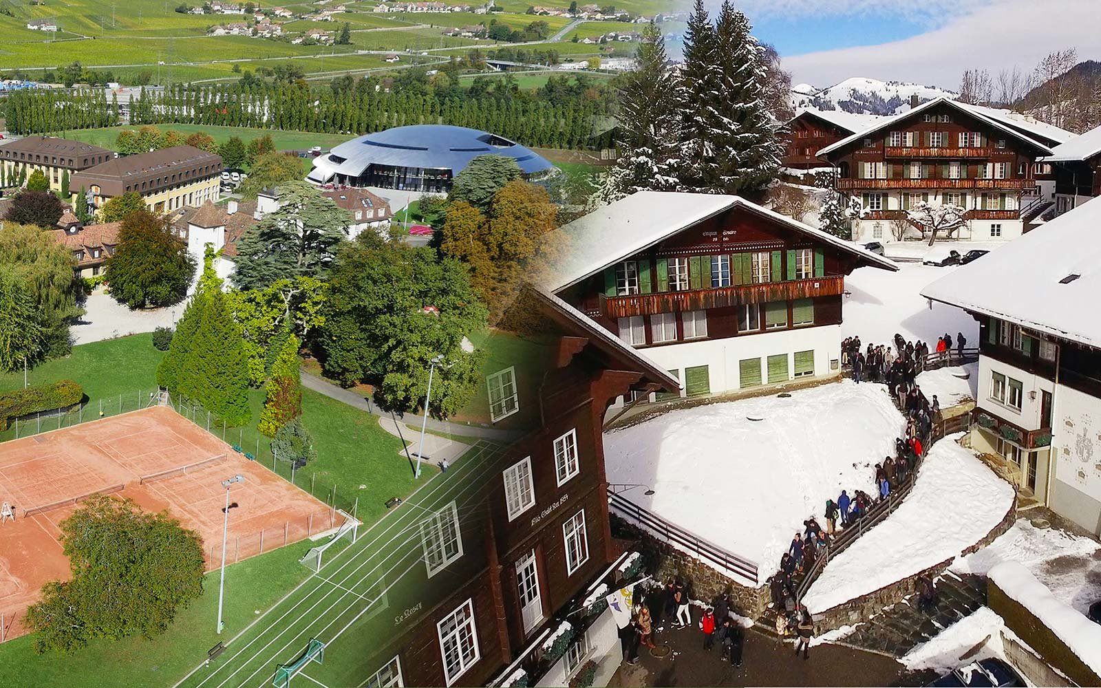 Institut Le Rosey Switzerland Most Expensive Boarding School