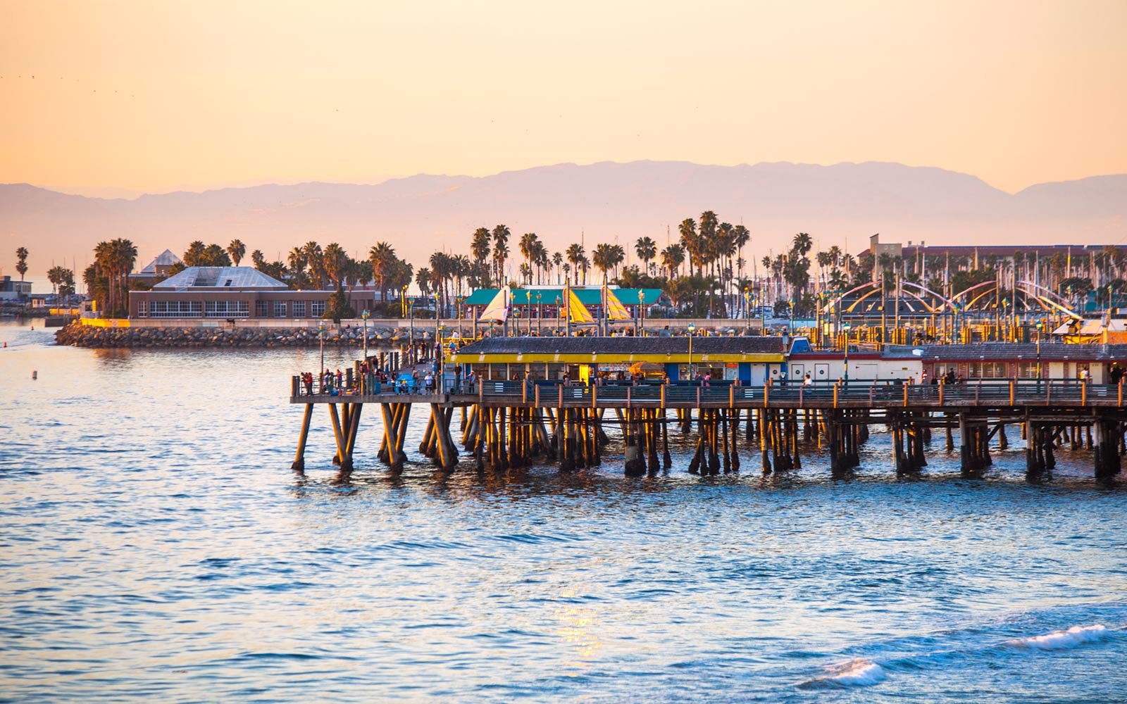 Redondo Beach pier, California