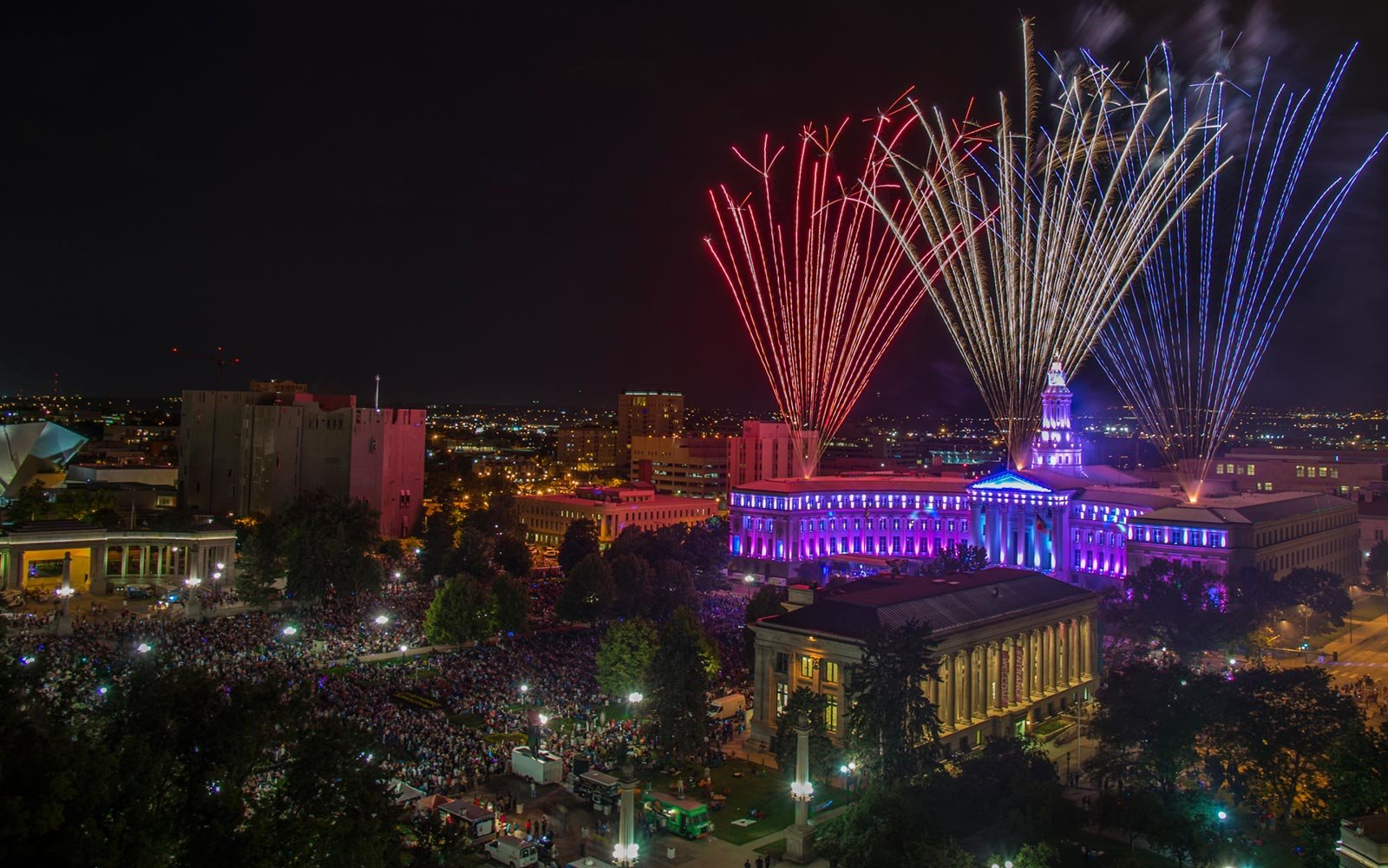 Independence Eve Celebration, Denver, Colorado