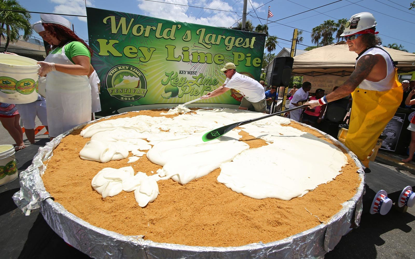 Key Lime Pie Festival, Fourth of July, Key West, Florida