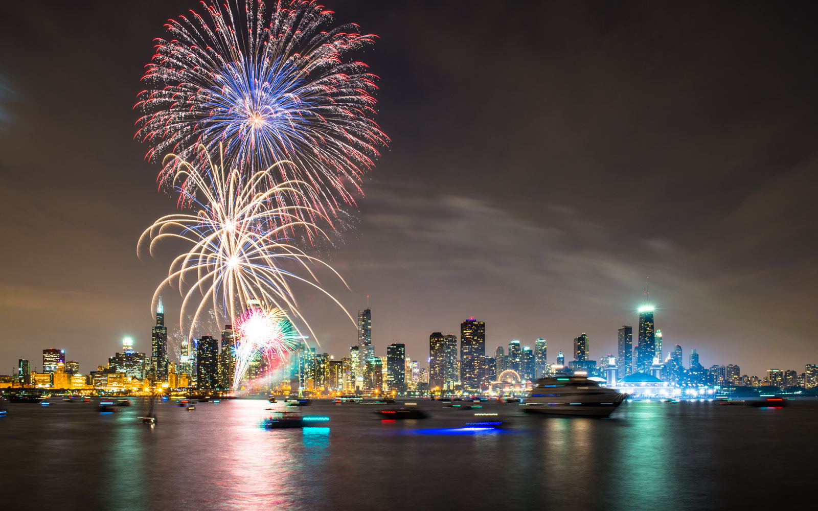 Navy Pier, Fourth of July, Chicago, Illinois
