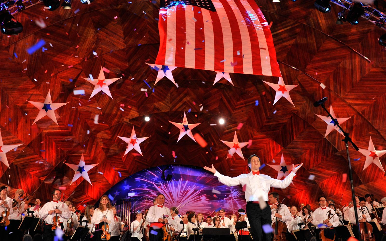 Boston Pops Orchestra, Fourth of July, Boston, Massachusetts