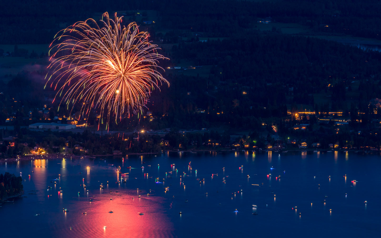 Fourth of July, Whitefish, Montana