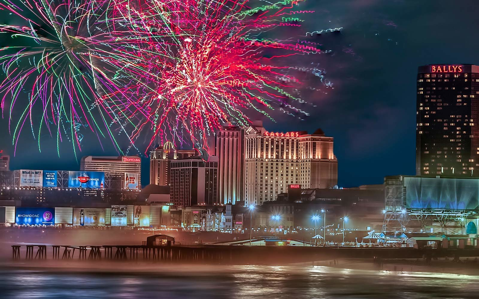 Fourth of July, Atlantic City, New Jersey