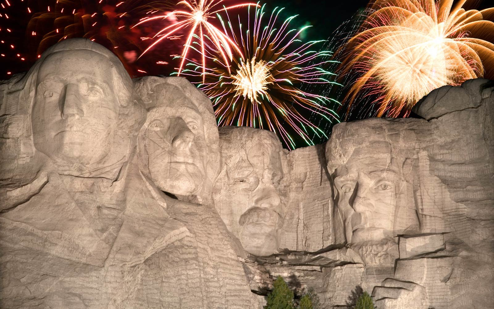Mount Rushmore, Fourth of July, South Dakota