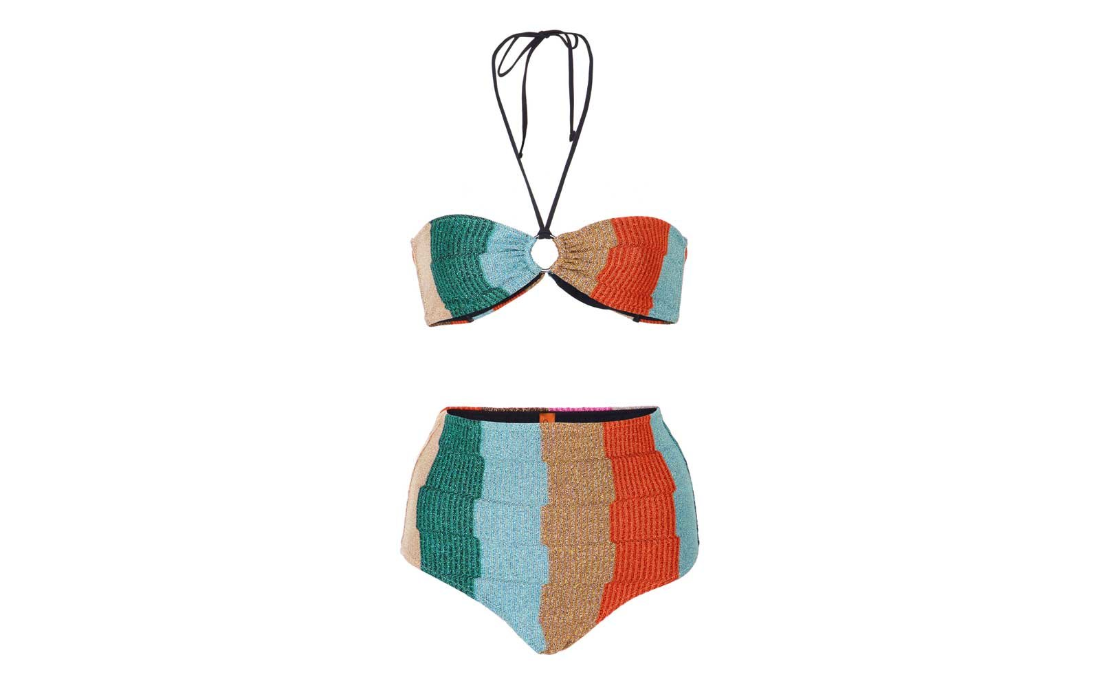 Missoni Moda Operandi Highwaist Swim