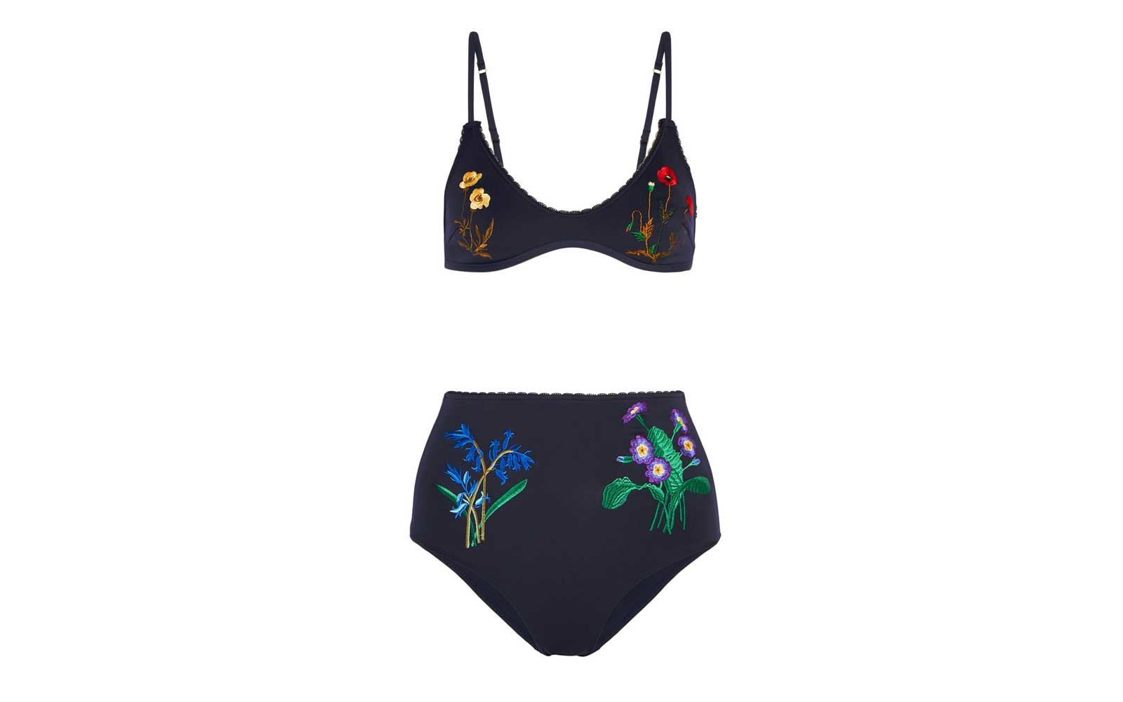 Stella Mccartney High Waist Swimsuit