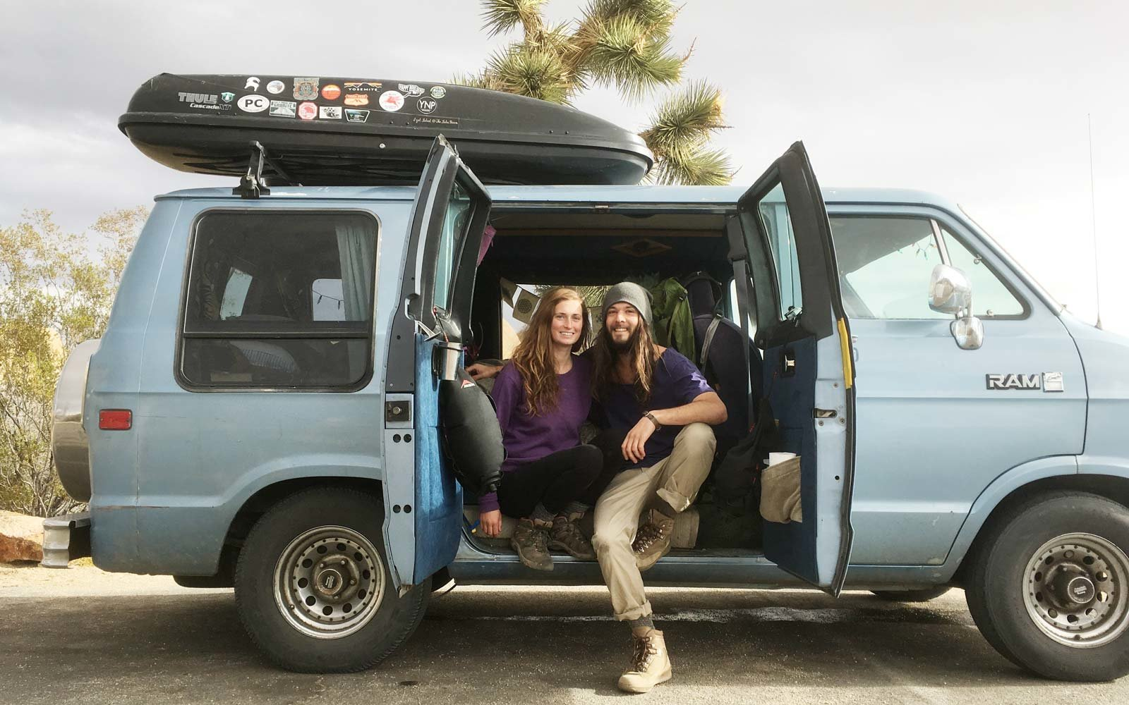 Newlyweds Reveal How They Travel the Country in Style in Their $1,500 Van | Travel + Leisure