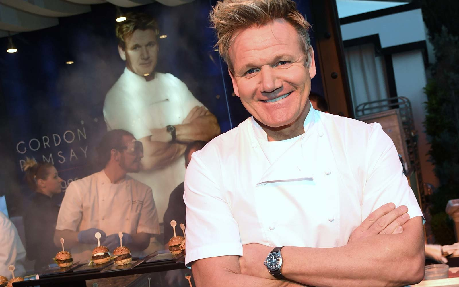 Chef Gordon Ramsay at the Gordon Ramsay Steak Las Vegas