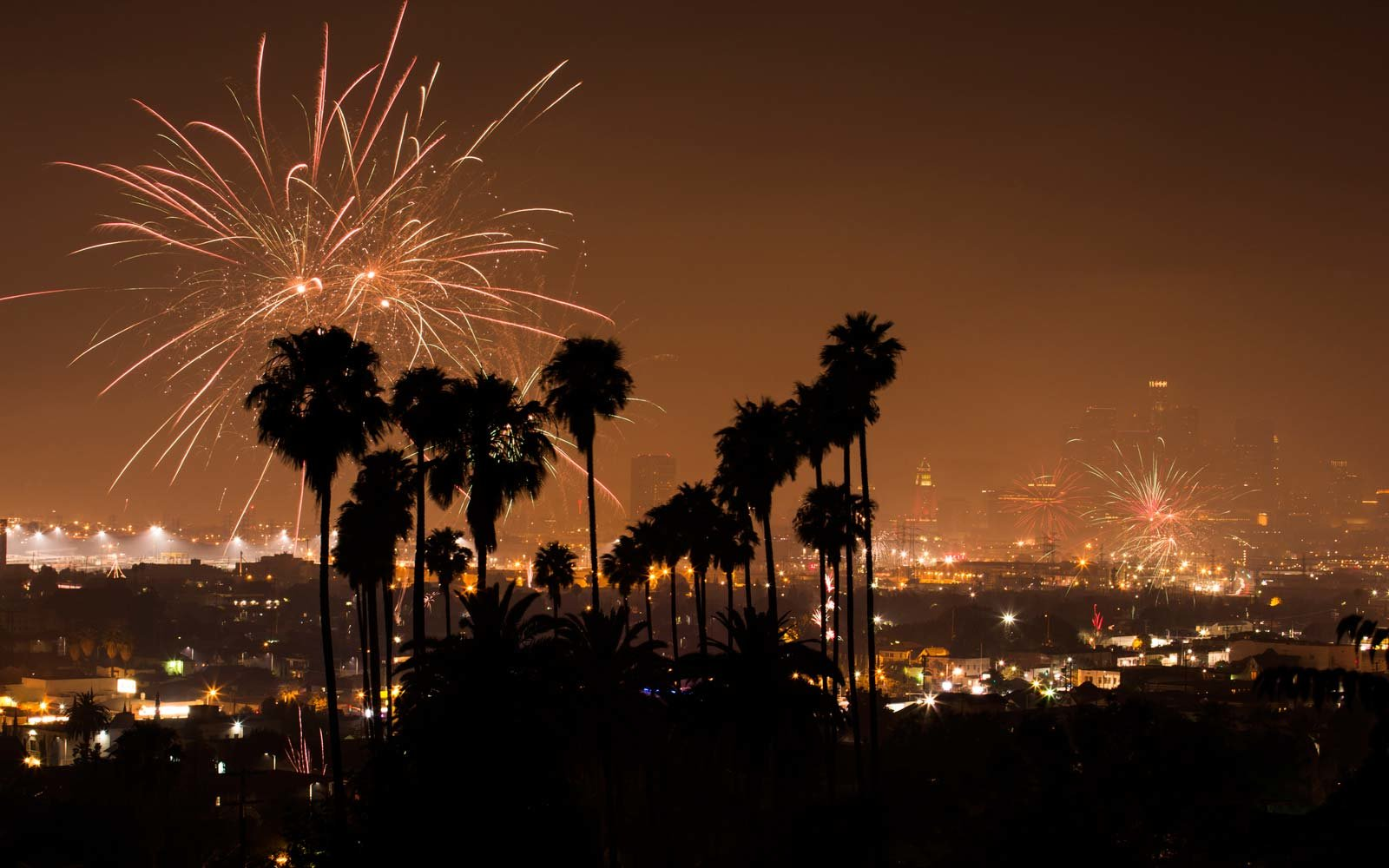 Stunning Timelapse Video Shows All The Illegal Fireworks