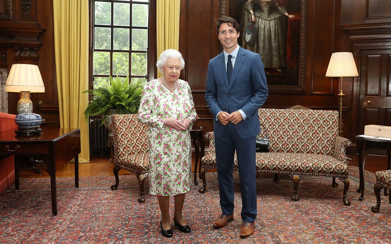 Canadian Prime Minister Justin Trudeau Made The Queen Of