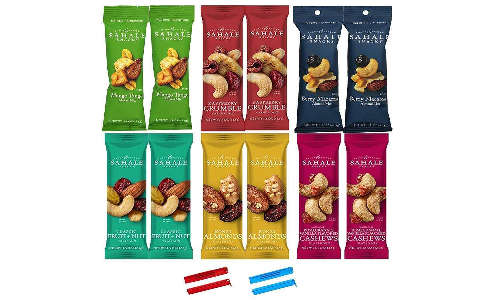 Sahale Snacks All Natural Nut Blends Grab And Go Variety Pack