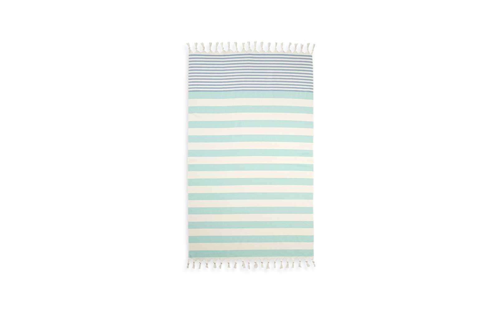 Cabana Stripe Turkish Cotton Beach Towel