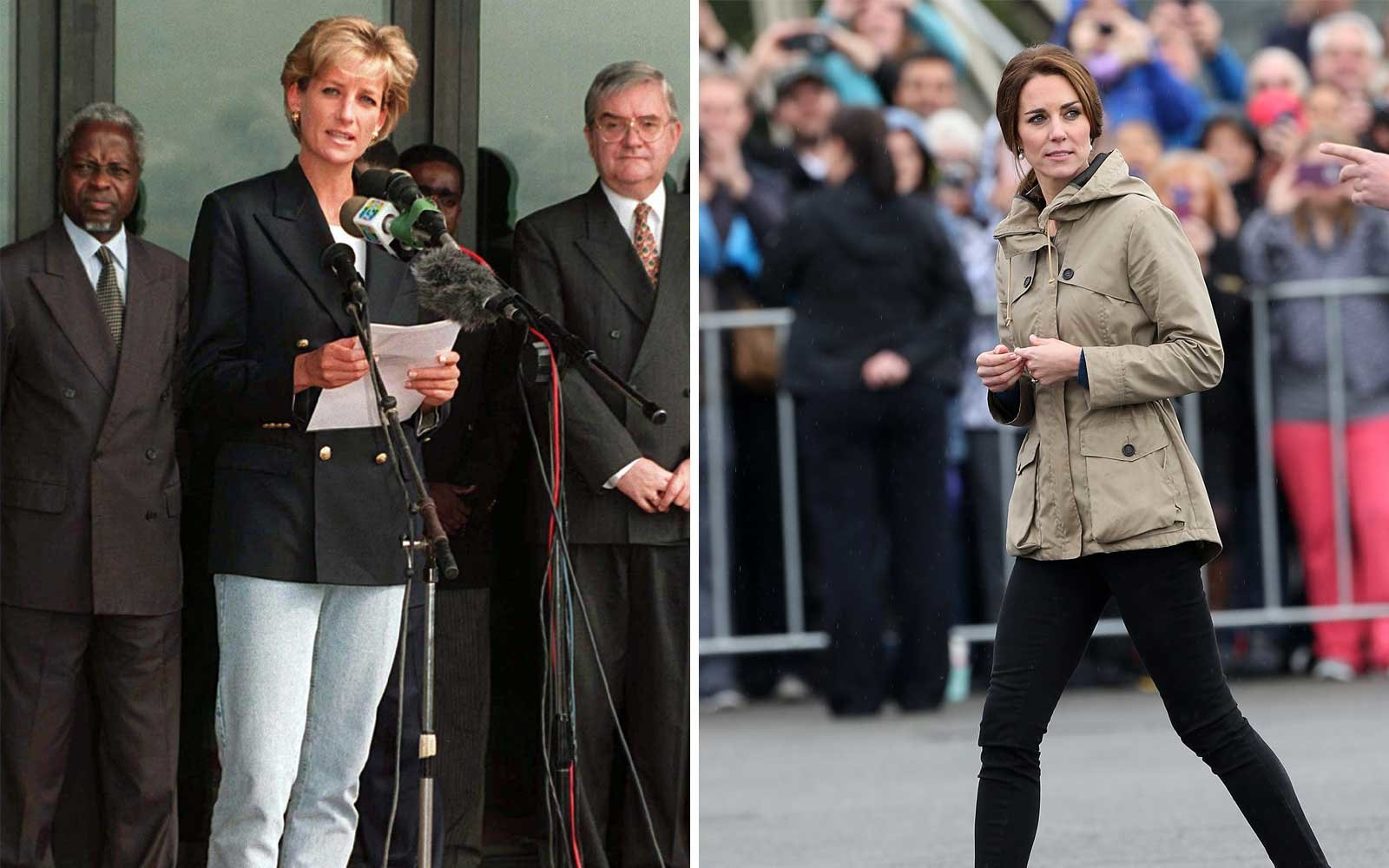 Princess Diana & Kate Middleton Sneakers