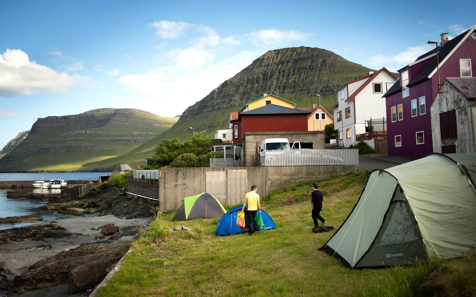 Camping in the Faroe Islands