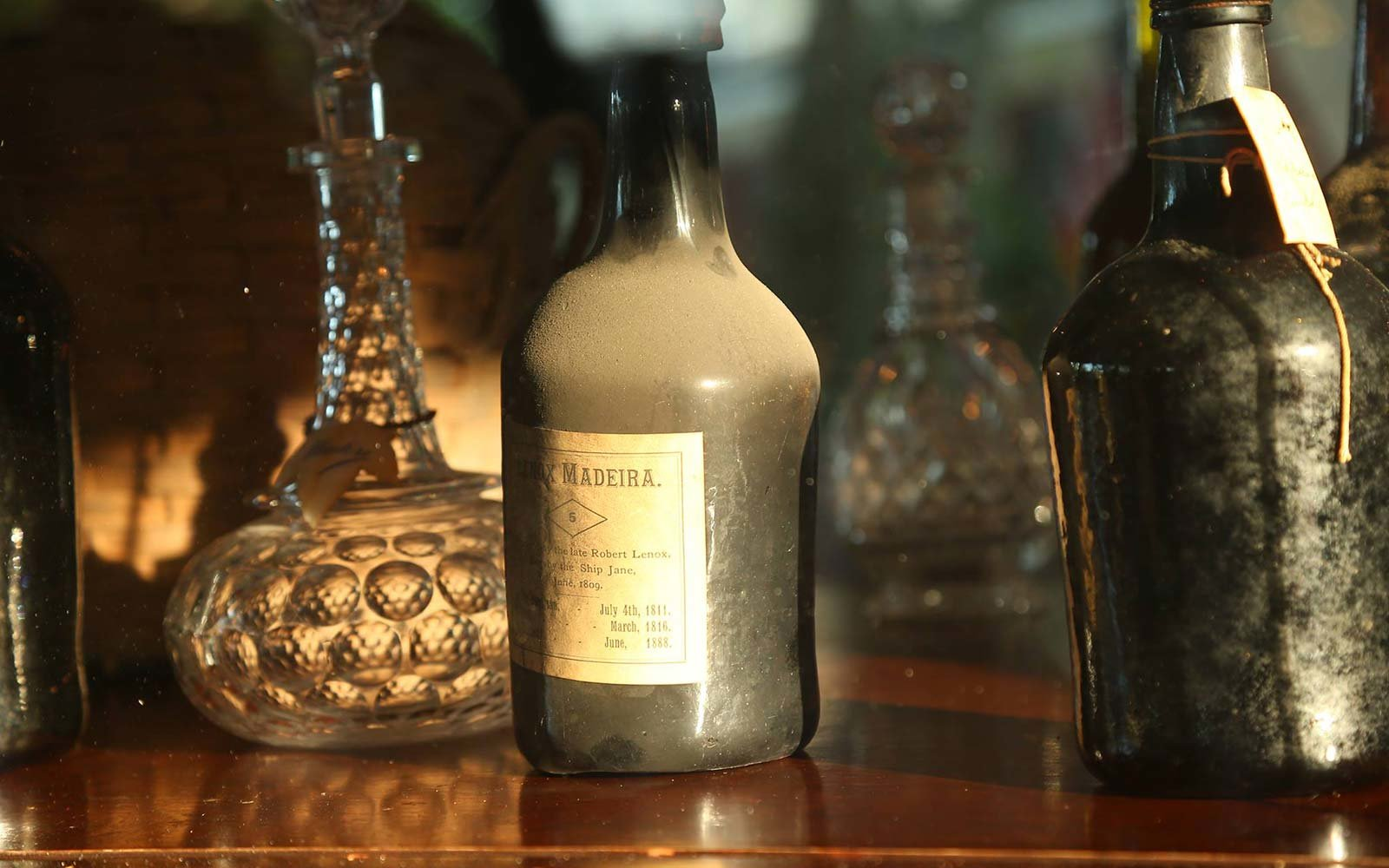 Liberty Hall Museum New Jersey Discovers Revolution Era Port Wine Madeira