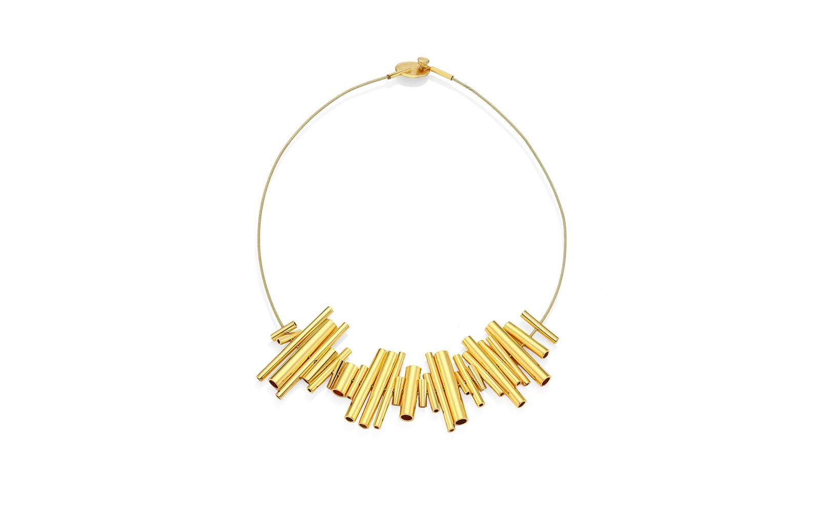 Paula Mendoza Gold Necklace