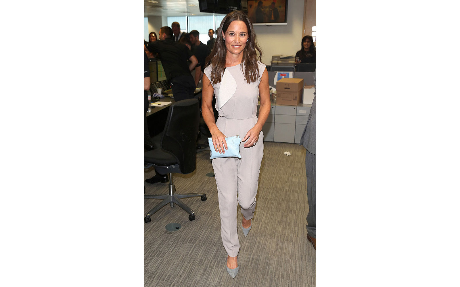 LONDON, ENGLAND - SEPTEMBER 12:  Pippa Middleton attends the BGC Annual Global Charity Day at Canary Wharf on September 12, 2016 in London, England.  (Photo by Tim P. Whitby/Getty Images)