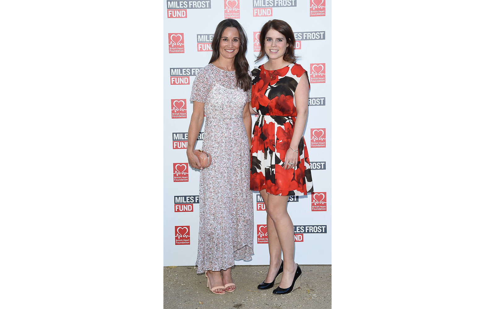 LONDON, ENGLAND - JULY 18:  Pippa Middleton and Princess Eugenie attend The Frost family final Summer Party to raise money for the Miles Frost Fund in partnership with the British Heart Foundation on July 18, 2016 in London, England.  (Photo by David M. B