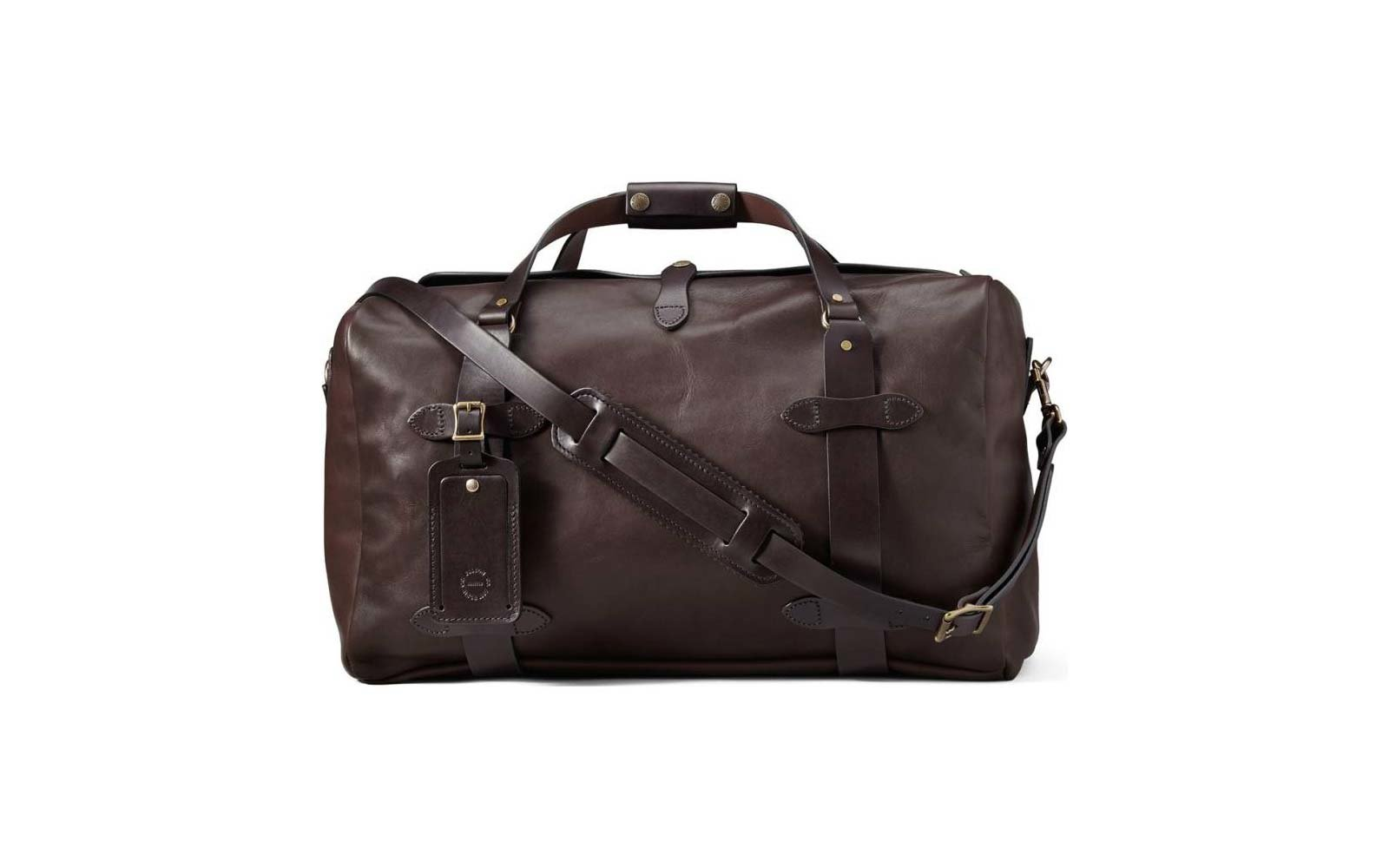 Filson leather bag
