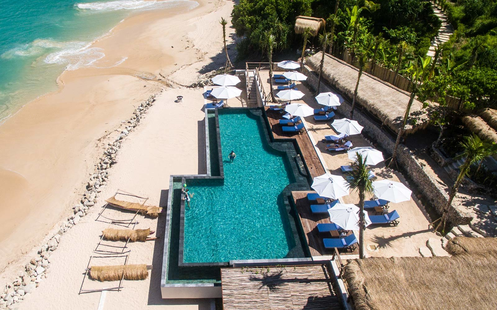 Aerial, Swimming Pool, Nihiwatu, Sumba, Indonesia