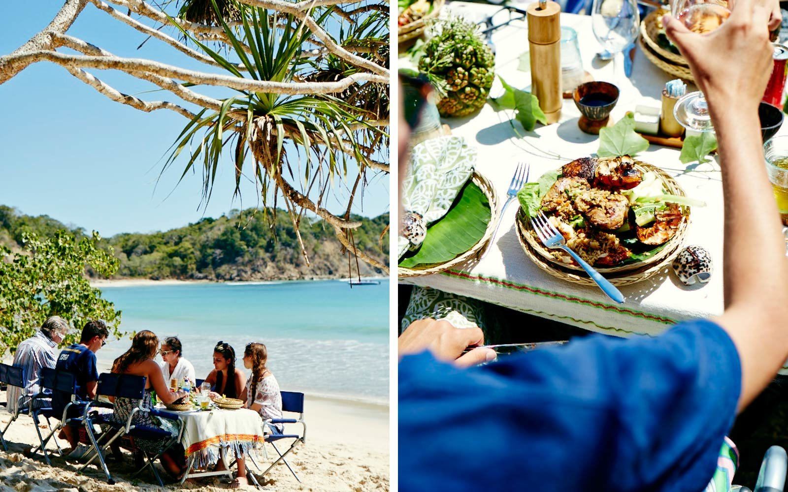 Beachside, Dining, Nihiwatu, Sumba, Indonesia