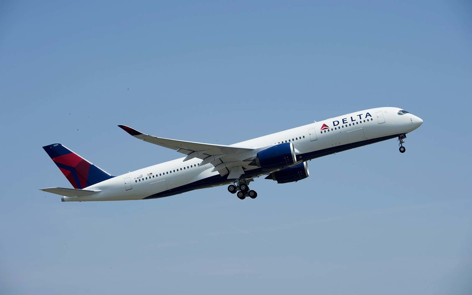 delta s brand new plane is the first to feature the airline s