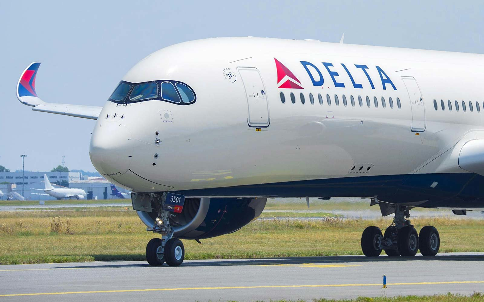 Delta Airlines Airbus A350 Wing Design