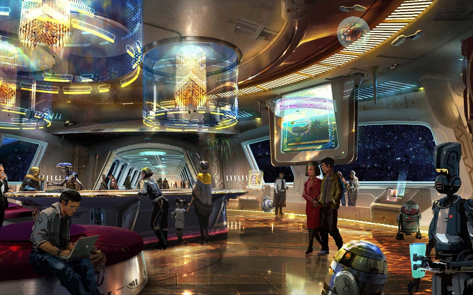 Disney Plans Star Wars Themed Resort