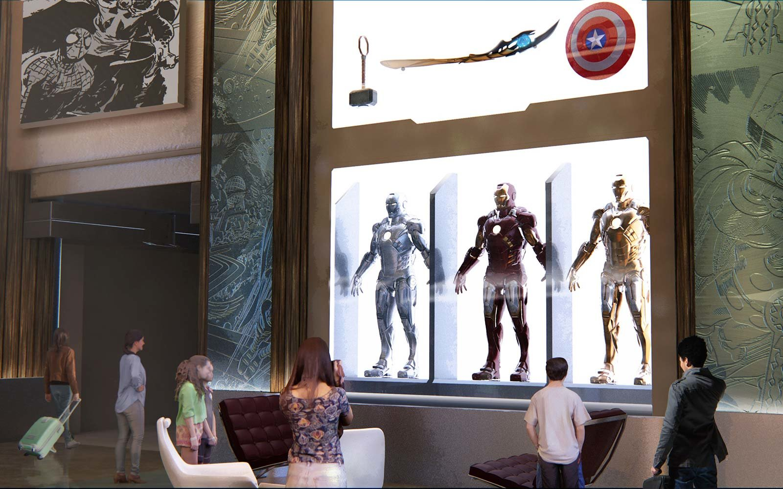 Disney is building the world 39 s first marvel hotel travel for Super hotel paris
