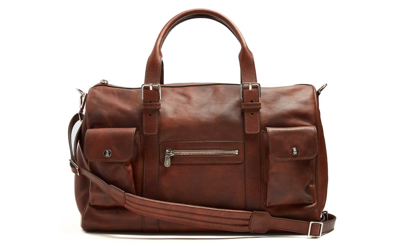 Bruno Cucinelli Duffel Bag for Travel