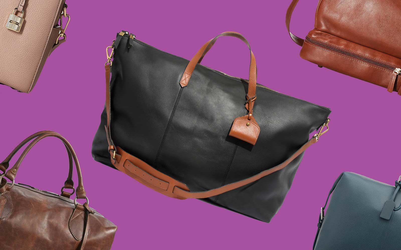 Leather Duffel Bags for Travelers