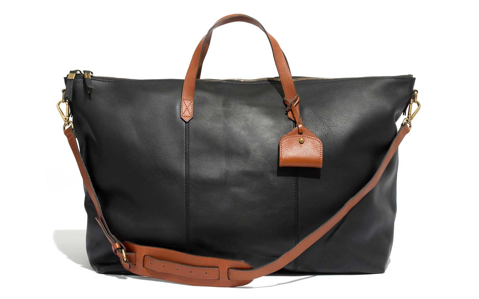 Madewell Leather Duffel for Travel d26bee6571bfa