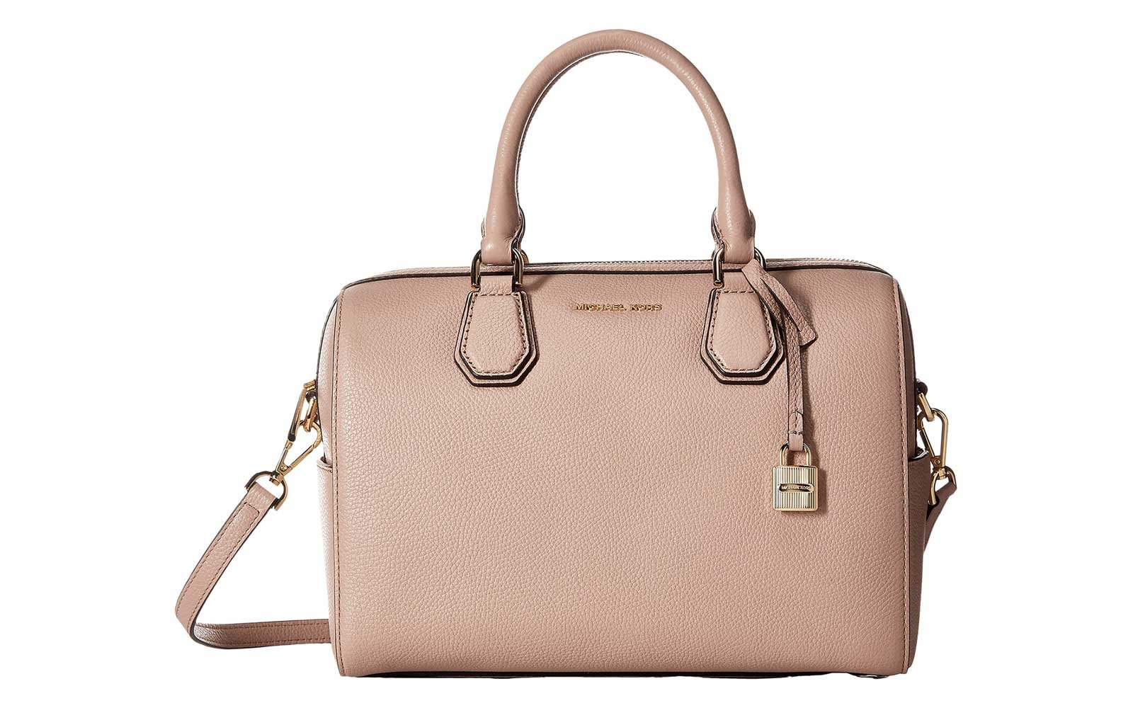 Michael Kors Leather Duffel Bag for Travel