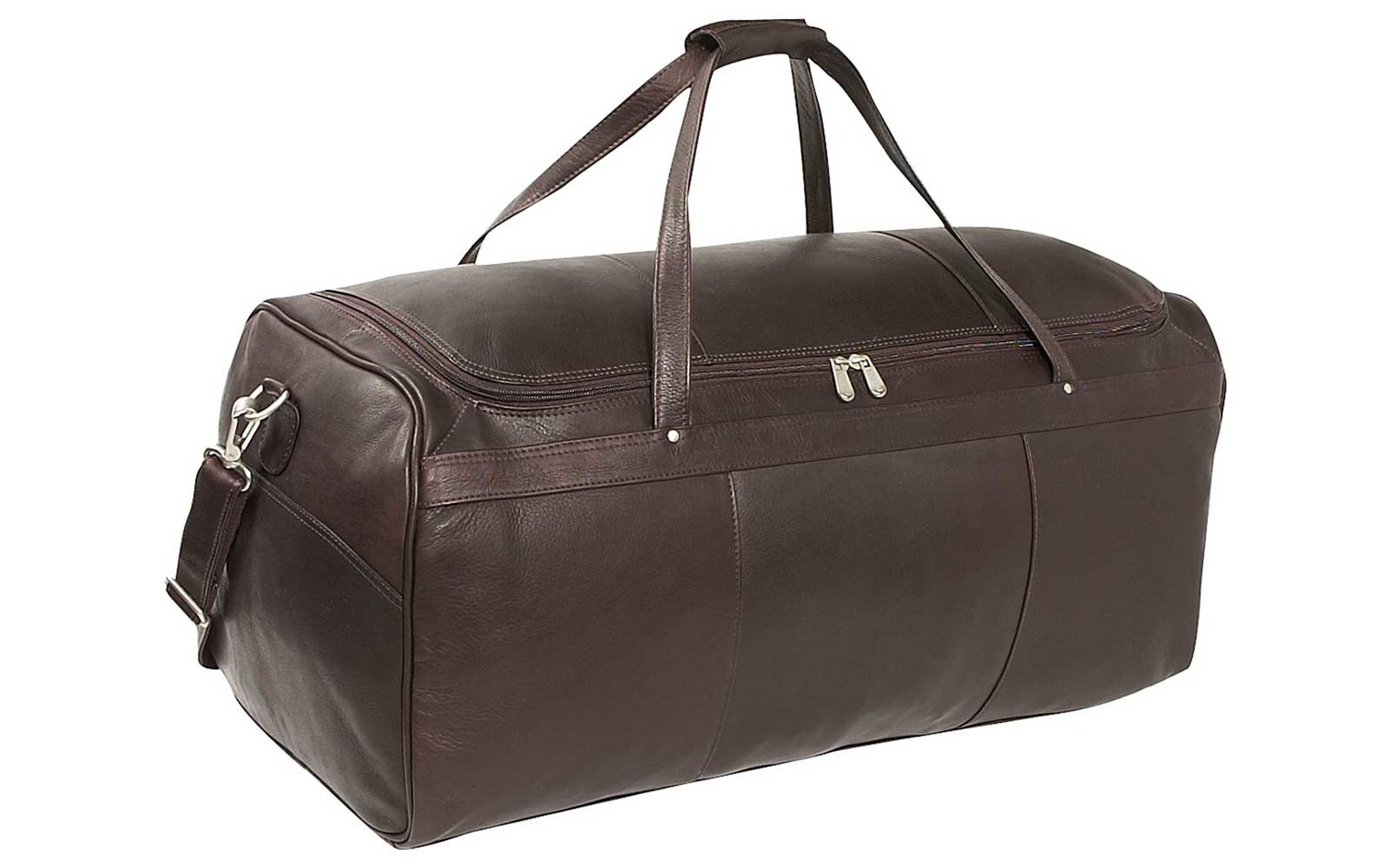the best leather duffel bags for 2018 | travel + leisure