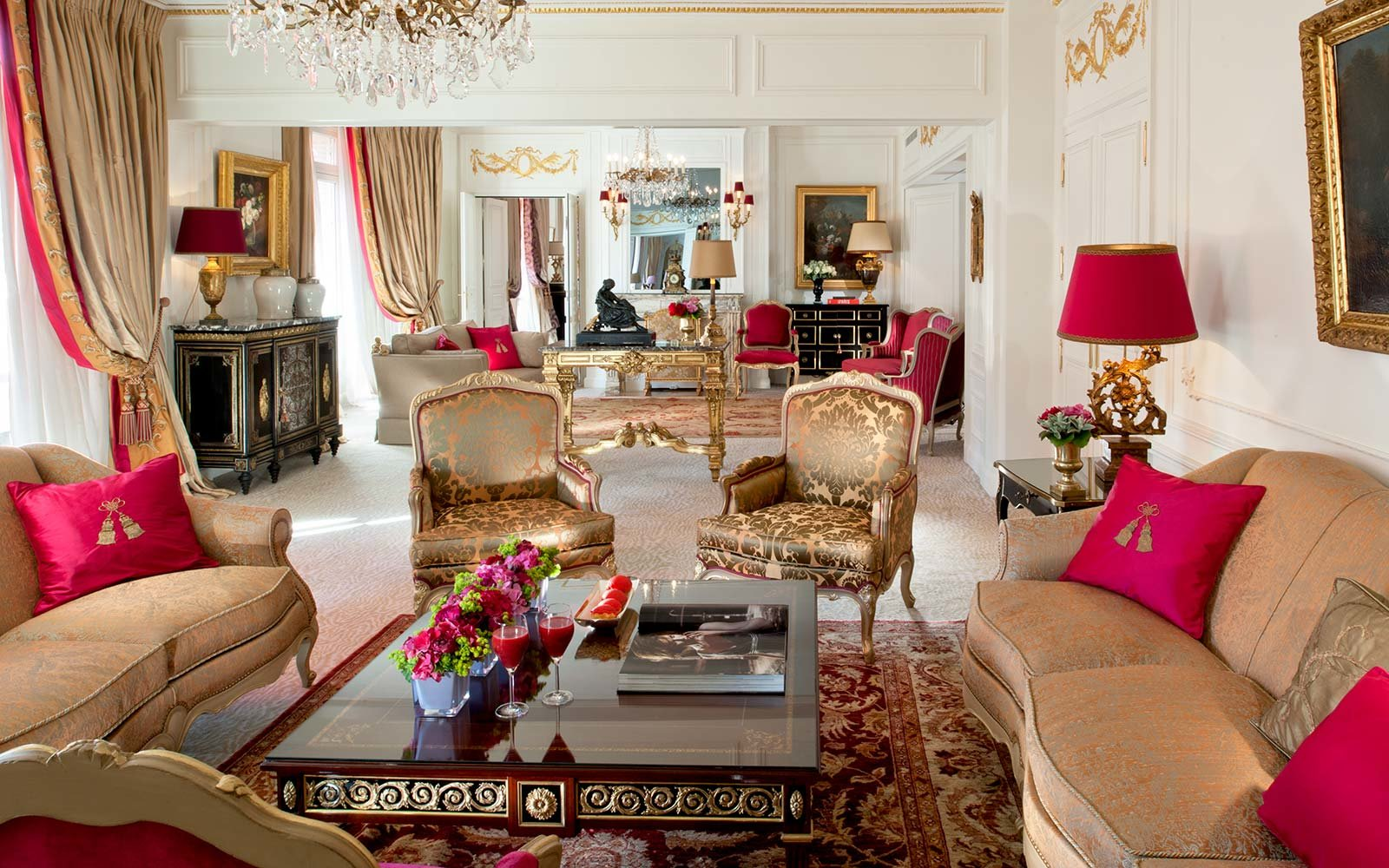 The Royal Suite at Hôtel Plaza Athénée, Paris, France