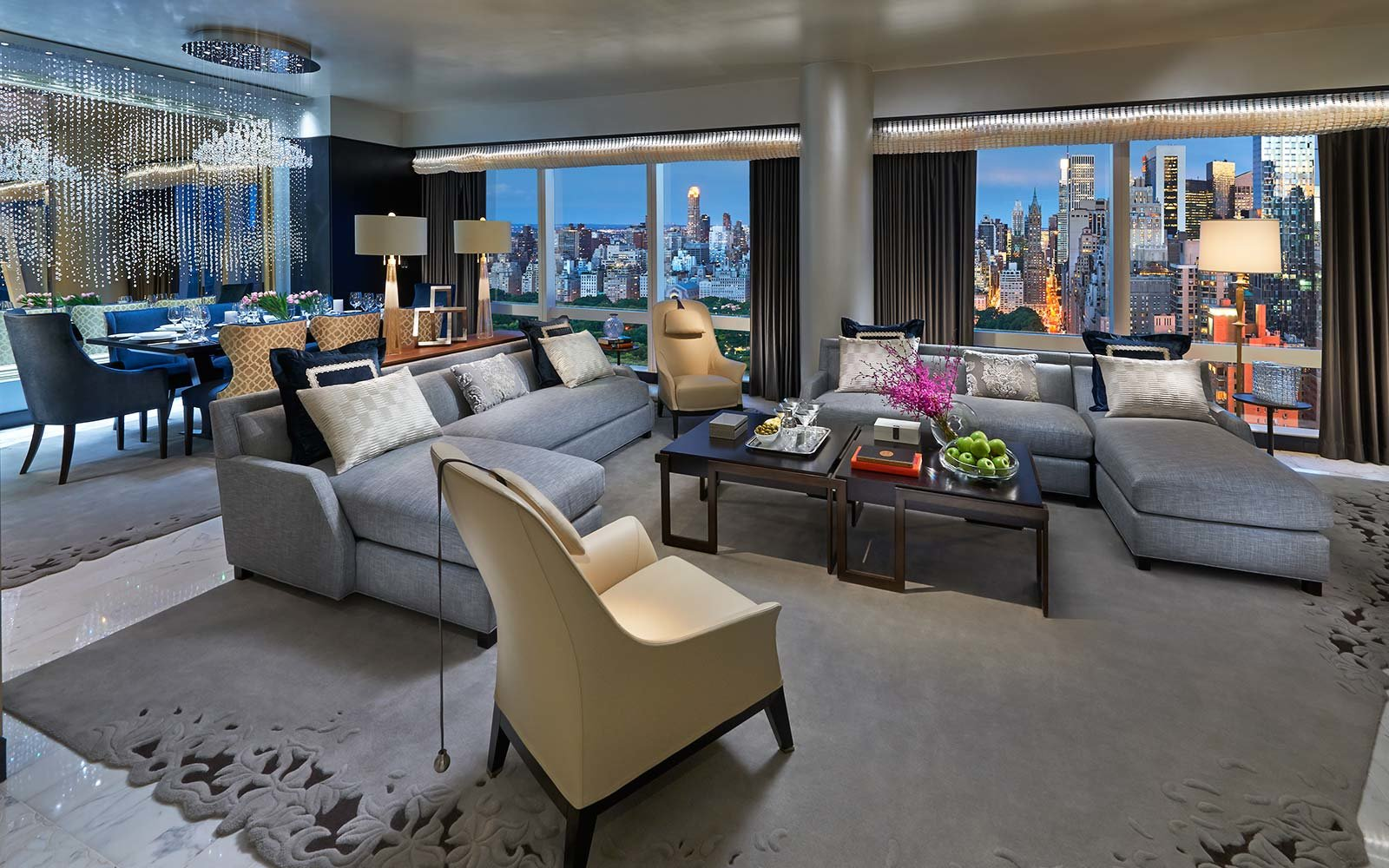Suite 5000 at Mandarin Oriental, New York, USA
