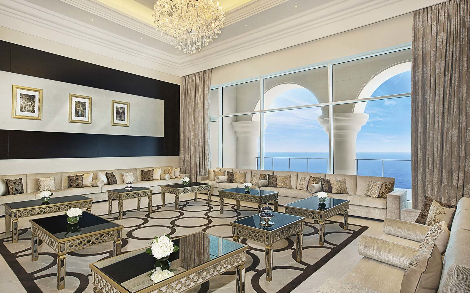 Royal Suite at Waldorf Astoria Dubai Palm Jumeirah, UAE