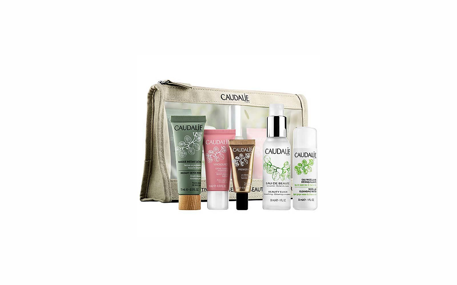 Travel Skincare Set Kits Caudalie