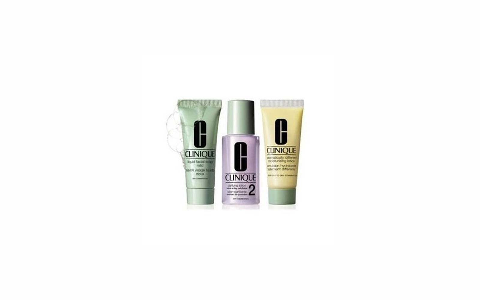 Travel Skincare Set Kits Clinique