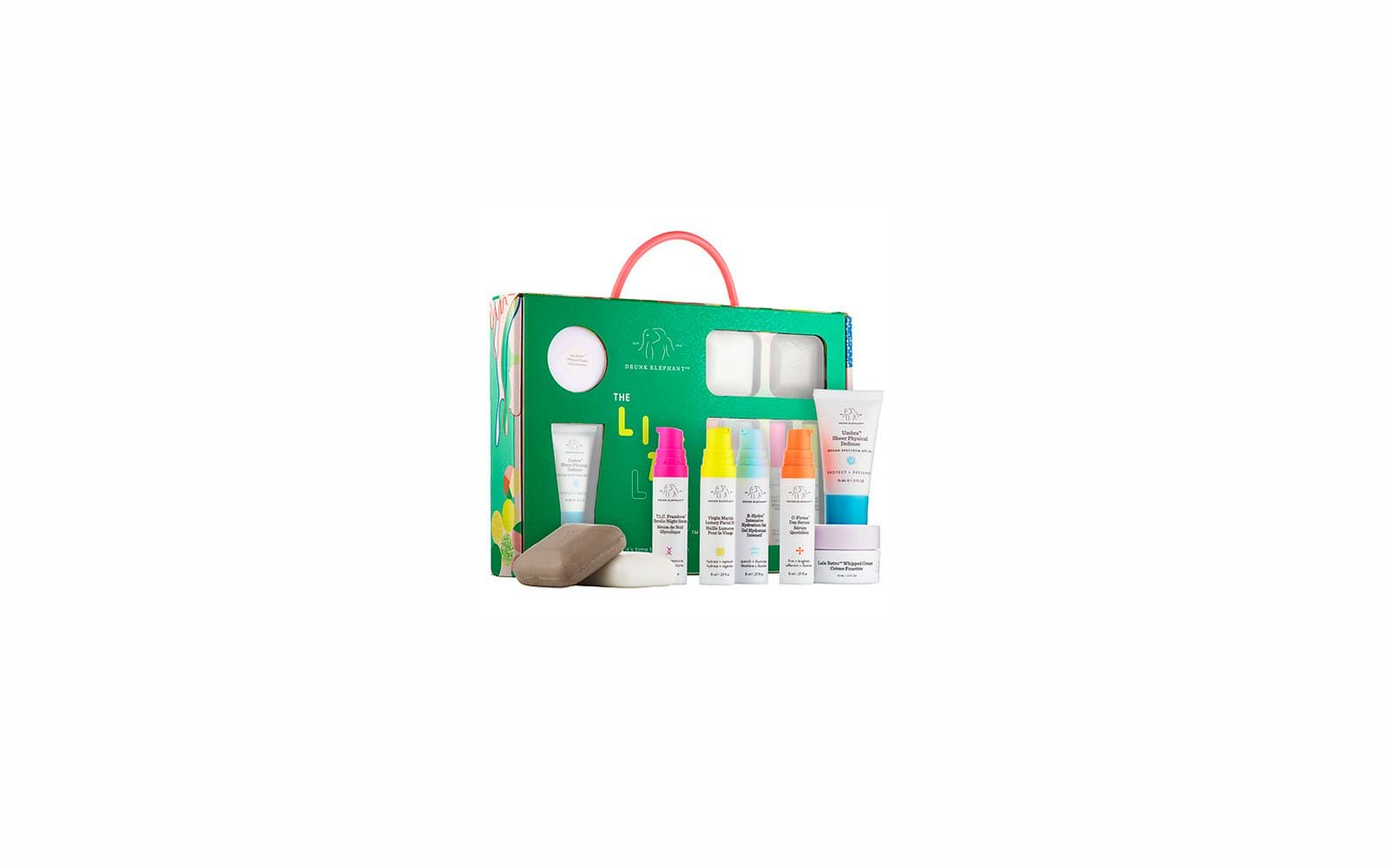 Travel Skincare Set Kits Drunk Elephant The Littles Set