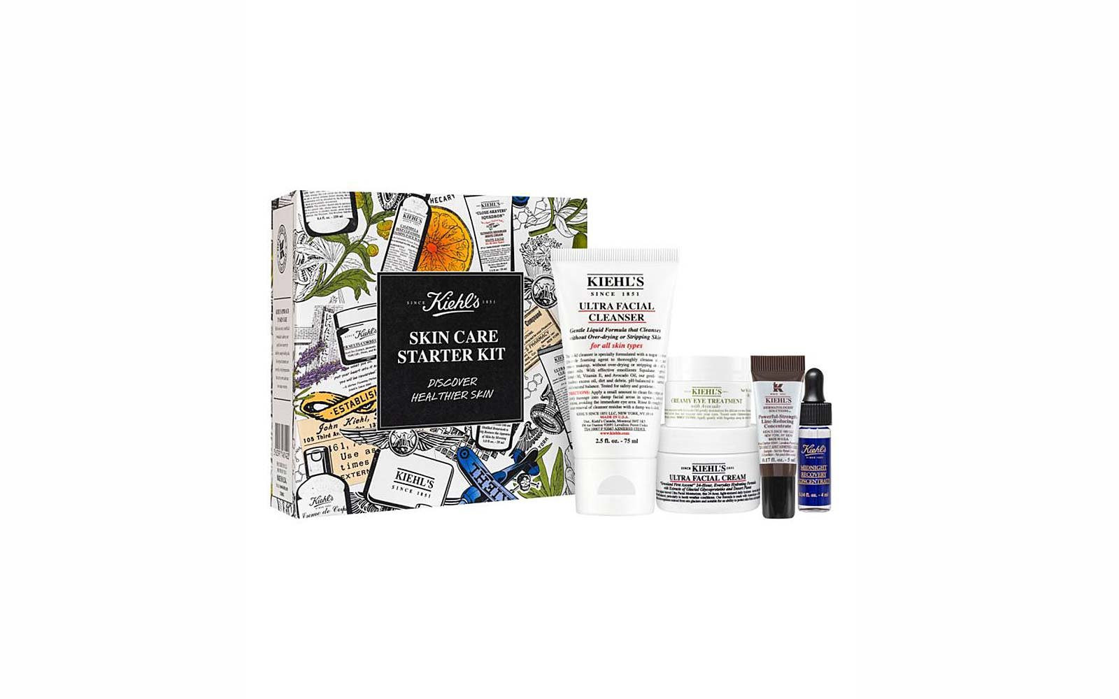 Travel Skincare Set Kits Kiehls