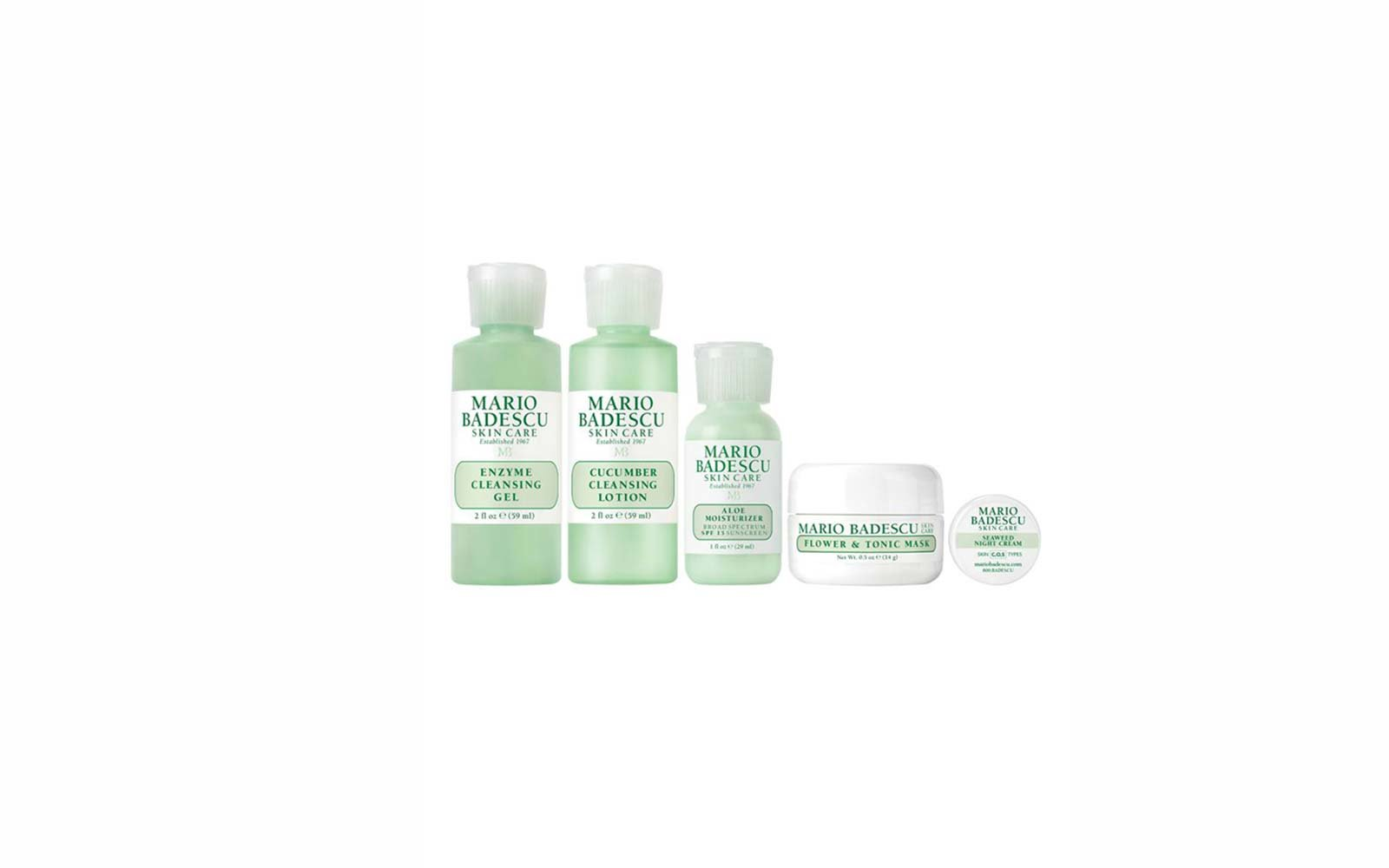 Travel Skincare Set Kits Mario Badescu Regimen