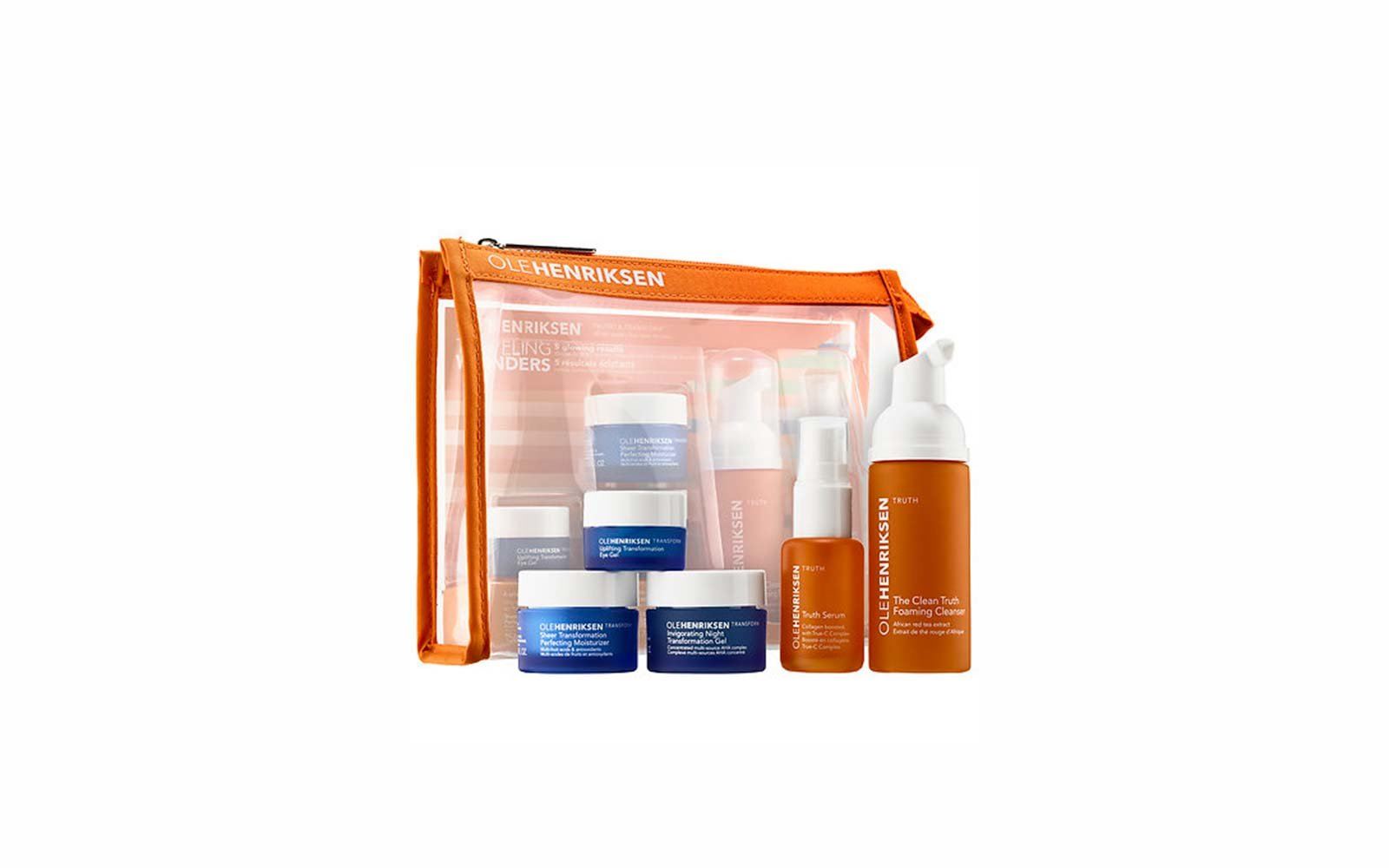 Travel Skincare Set Kits Olehenriksen
