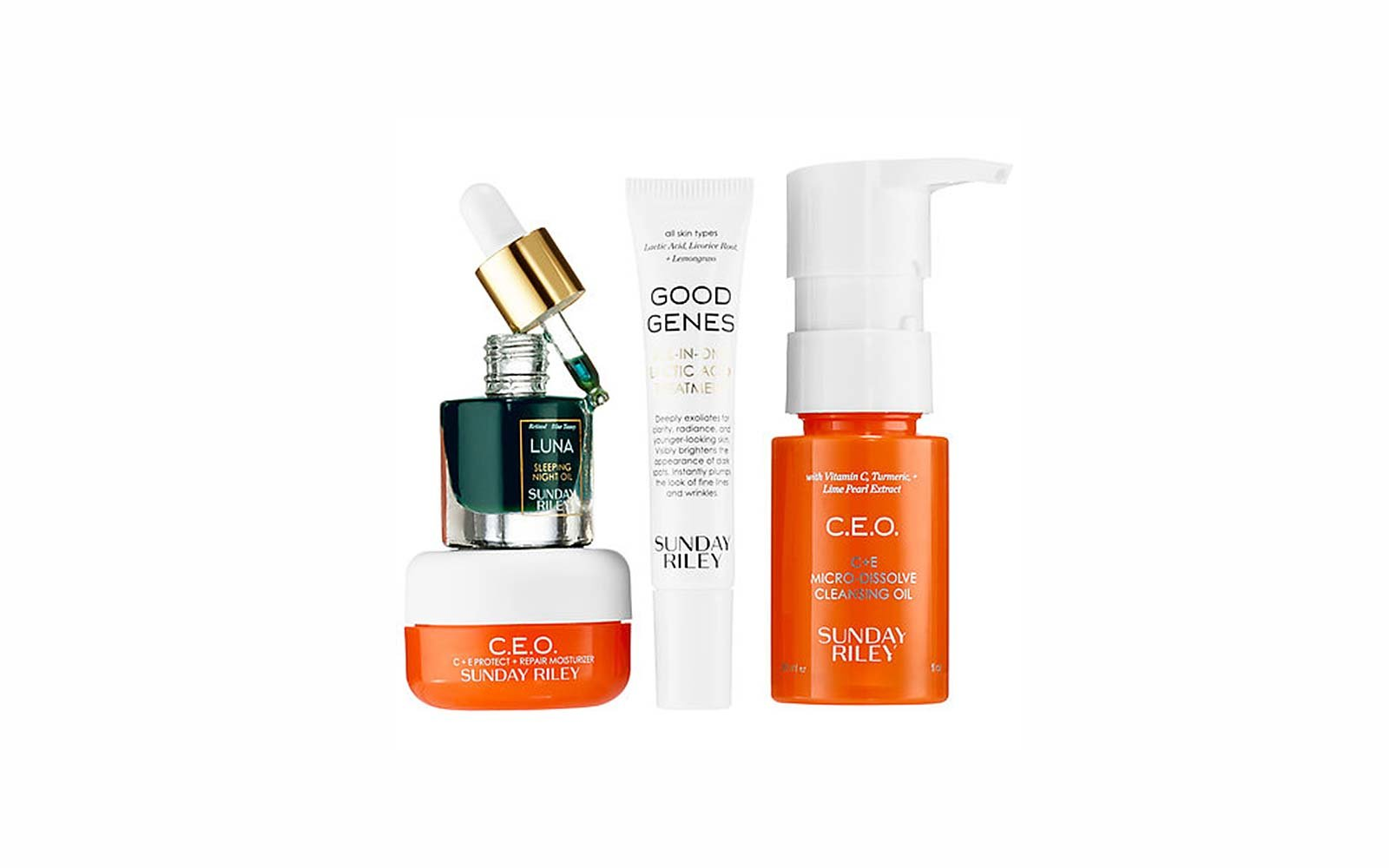Travel Skincare Set Kits Sunday Riley Sunday School