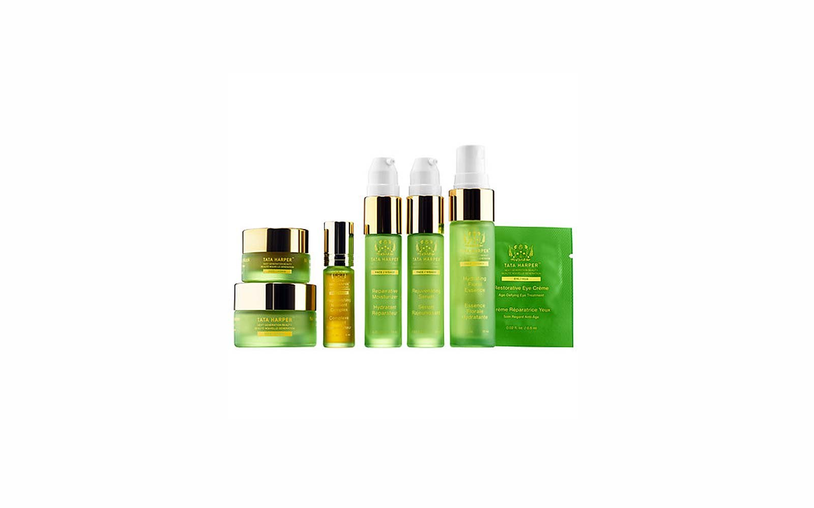 Travel Skincare Set Kits Tata Harper Daily Essentials