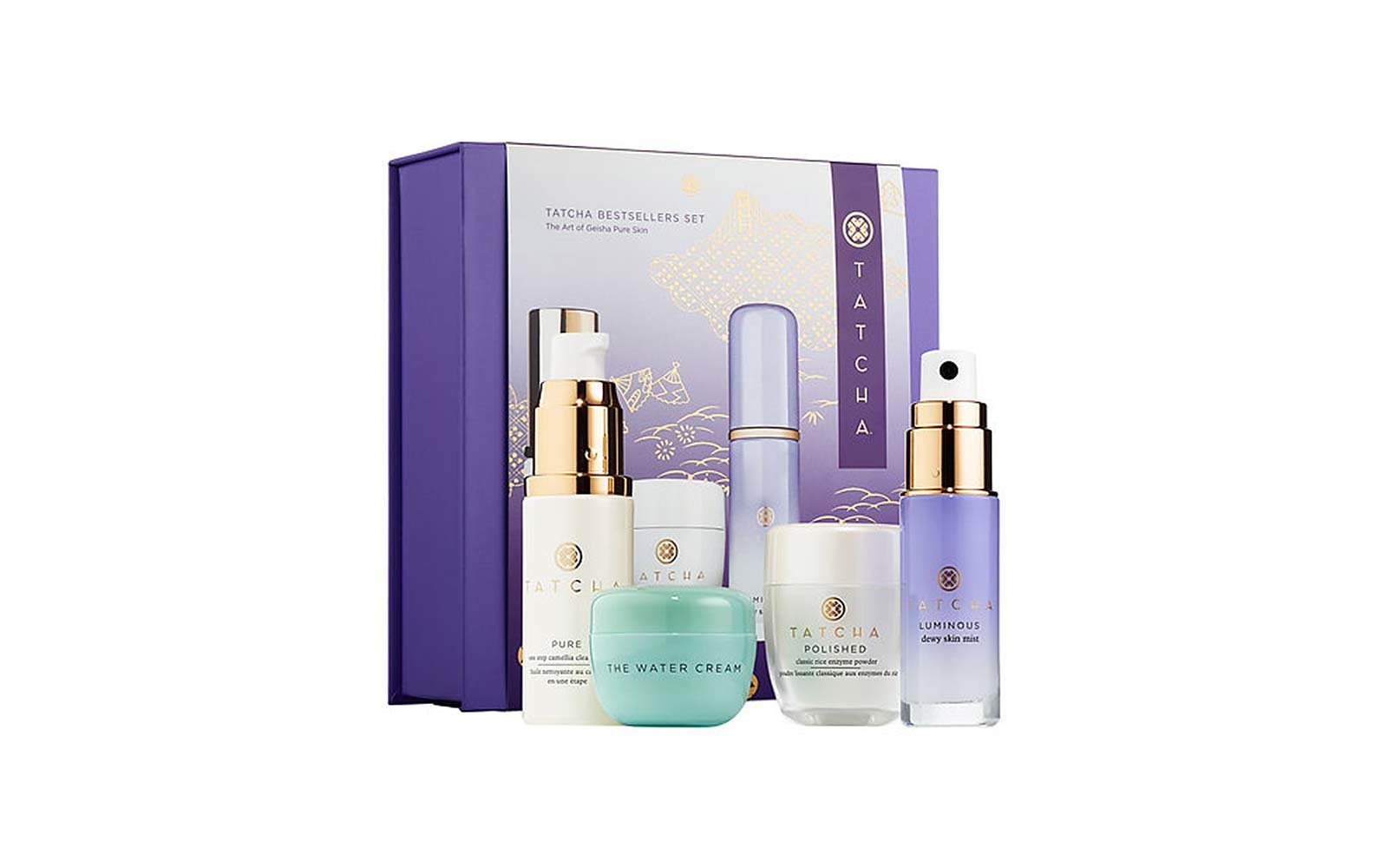 Travel Skincare Set Kits Tatcha Bestsellers