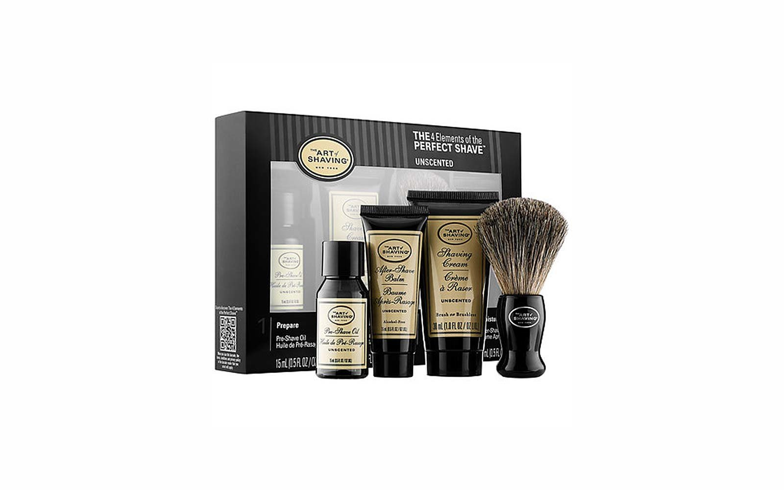 Travel Skincare Set Kits Art of Shaving Perfect Shave