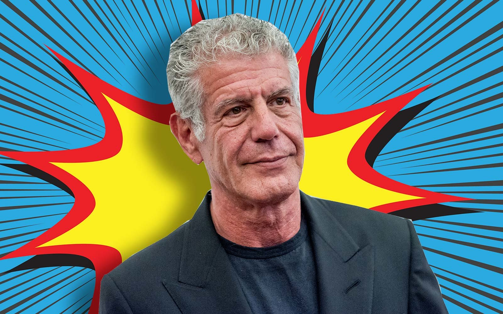 Anthony Bourdain Chef Comic Book Graphic Novel