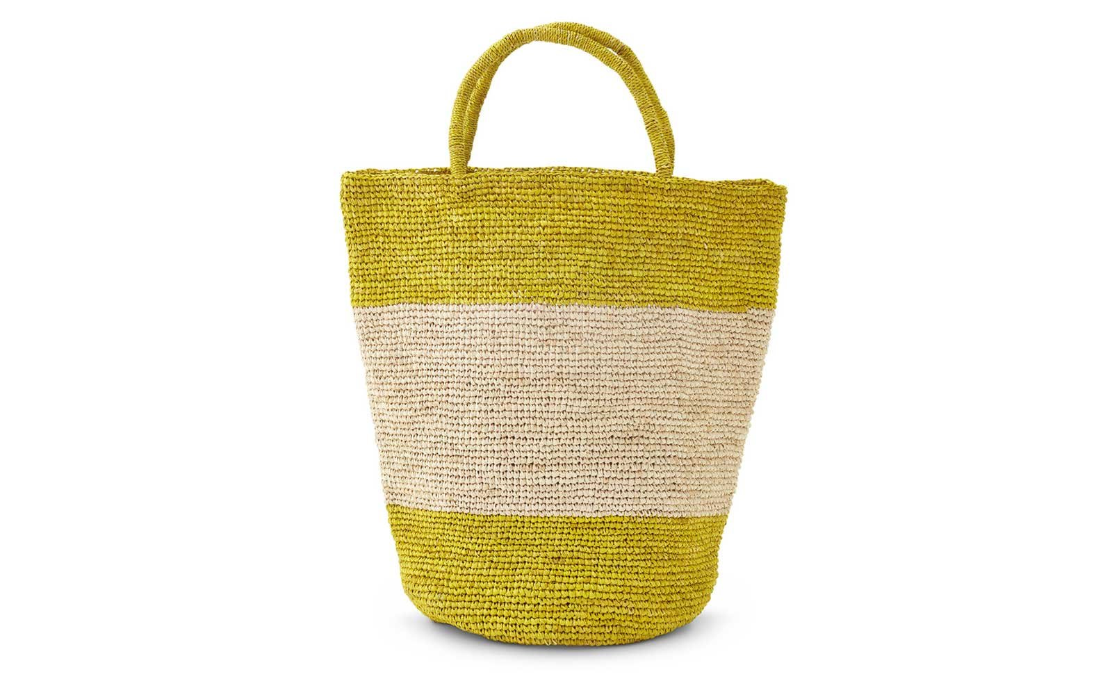 Striped Beach Totes